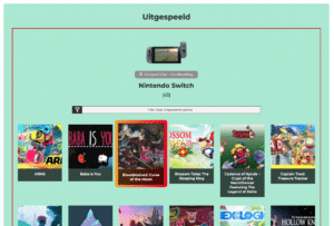 Nintendo Collectie Systeem - Uitgespeeld